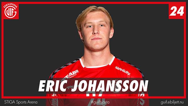 Eric Johansson till Elverum