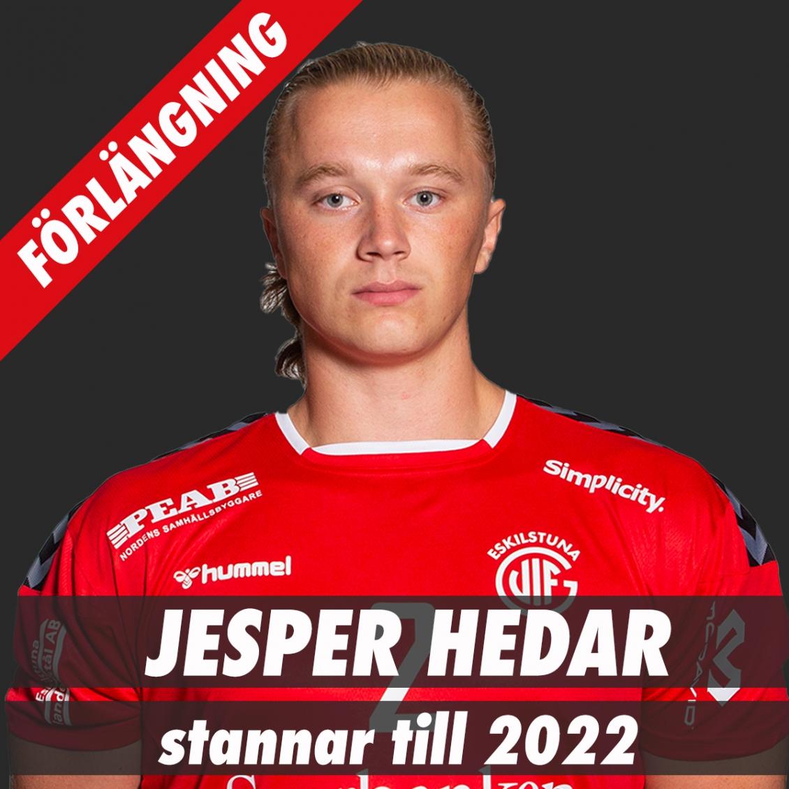Jesper Hedar förlänger