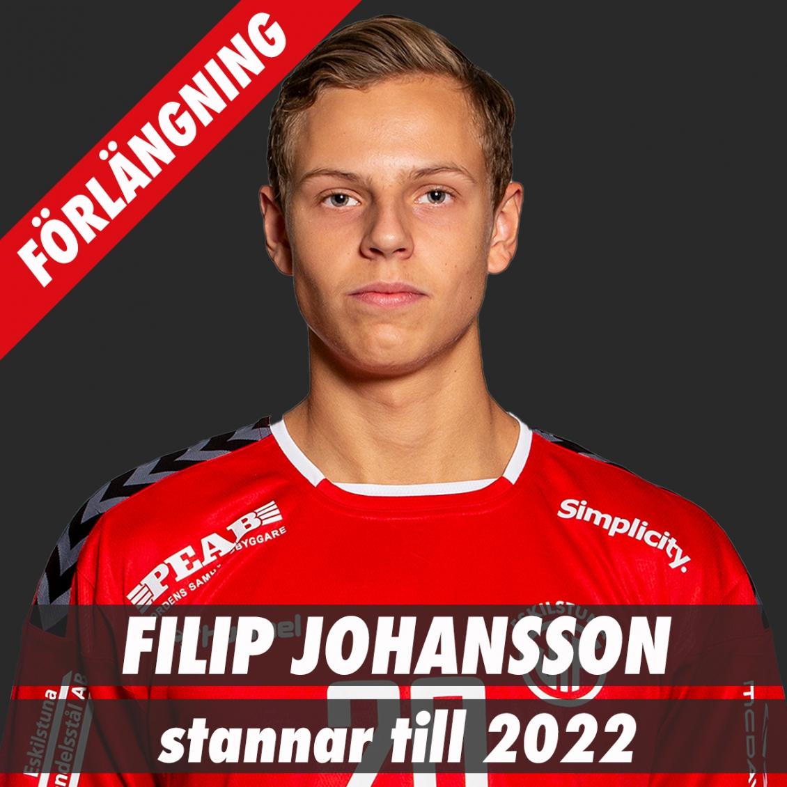 Filip Johansson förlänger