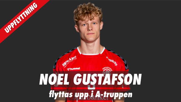 Noel Gustafson flyttas upp i A-truppen