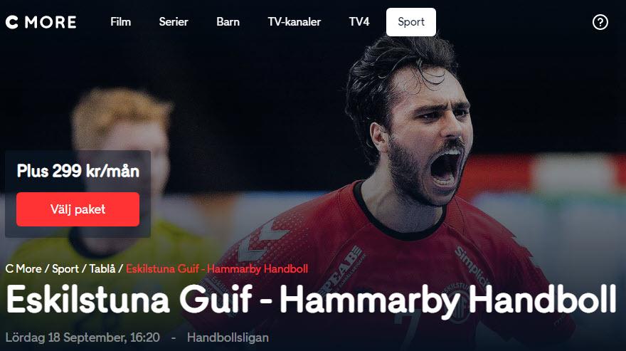 Eskilstuna Guif - Hammarby IF HF