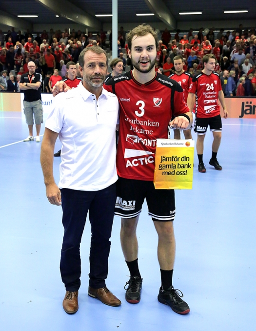 Matchens lirare Emil Andersson