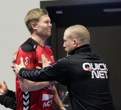 Älgen slår igång Sjöbrink innan match